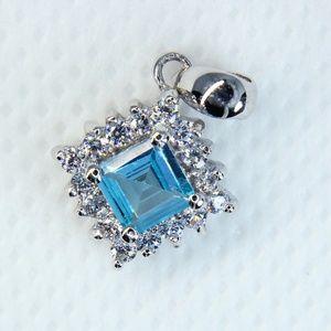 Jewelry - Genuine Topaz Sterling Silver Pendant